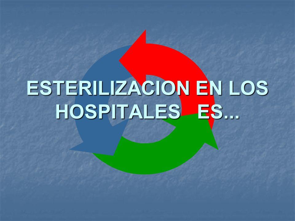 ESTERILIZACION EN LOS HOSPITALES ES...