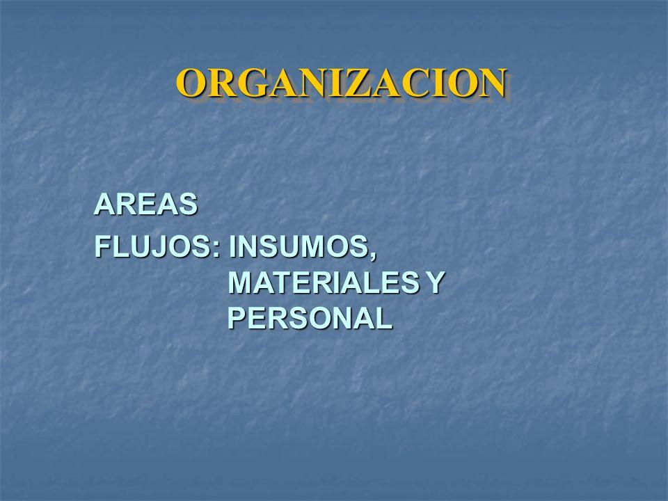 ORGANIZACION AREAS.