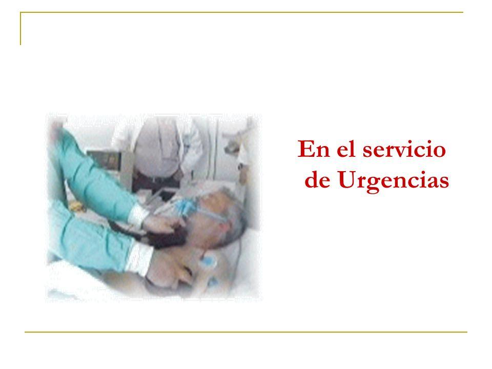 En el servicio de Urgencias