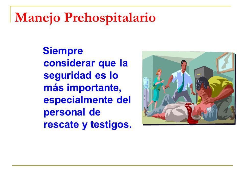 Manejo Prehospitalario