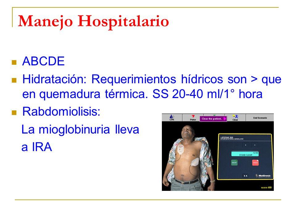 Manejo Hospitalario ABCDE