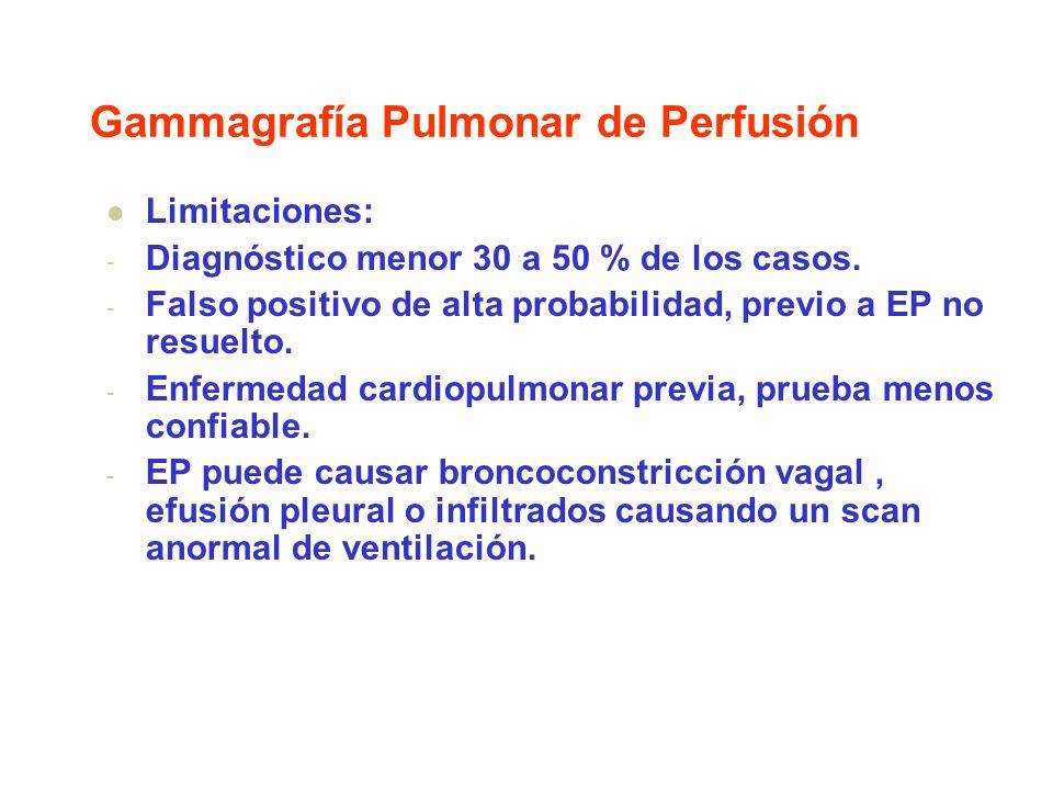Gammagrafía Pulmonar de Perfusión