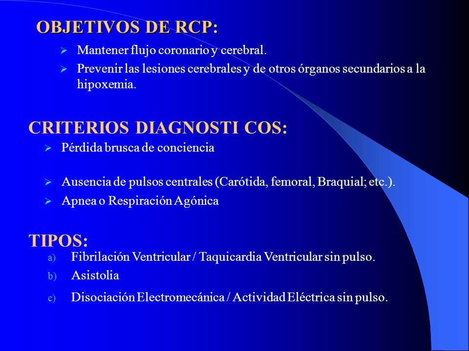 CRITERIOS DIAGNOSTI COS: