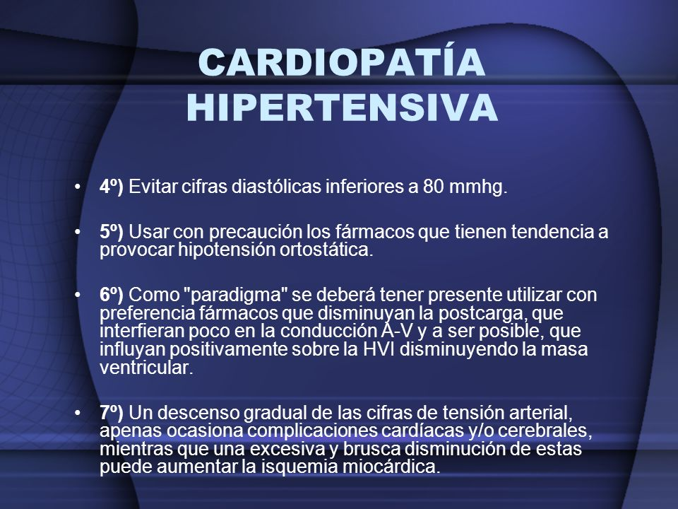 CARDIOPATÍA HIPERTENSIVA