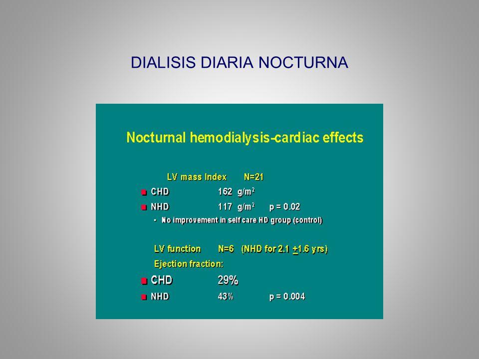 DIALISIS DIARIA NOCTURNA