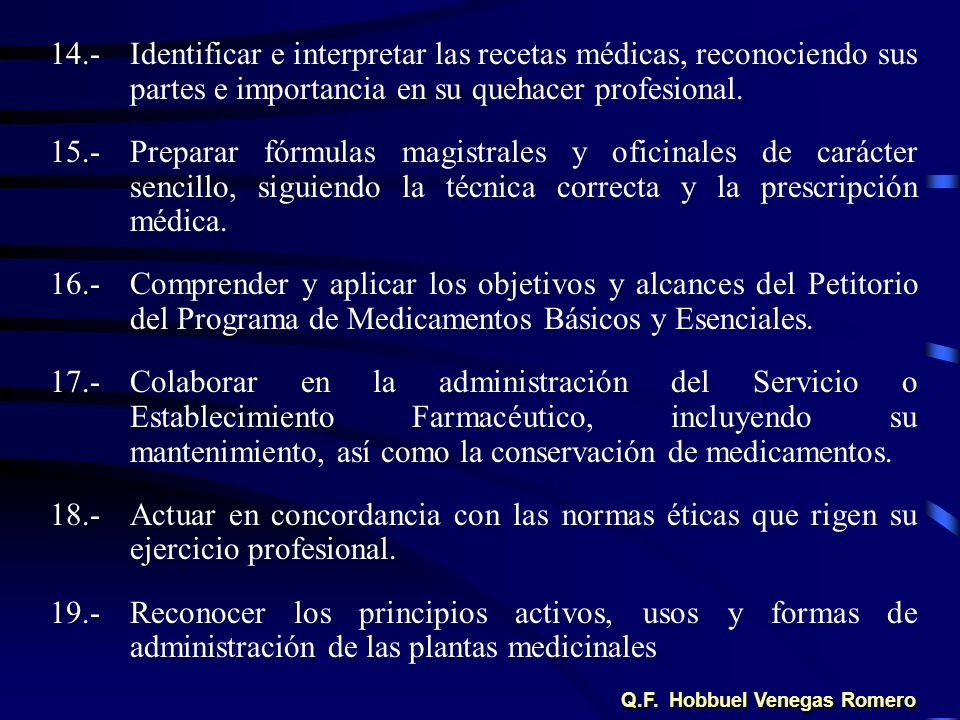 Q.F. Hobbuel Venegas Romero