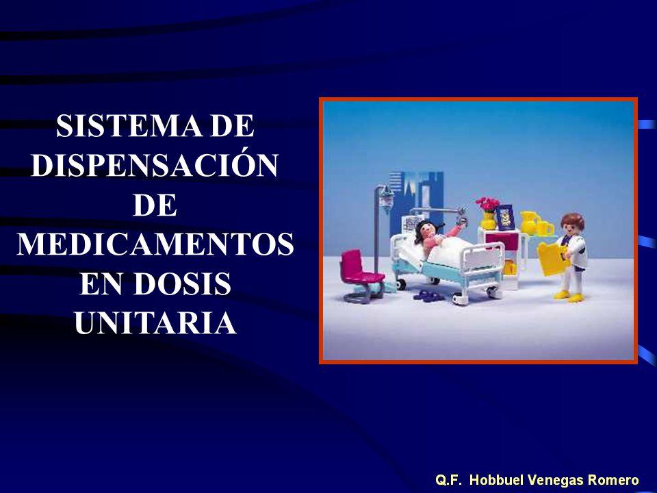 SISTEMA DE DISPENSACIÓN DE MEDICAMENTOSEN DOSIS UNITARIA