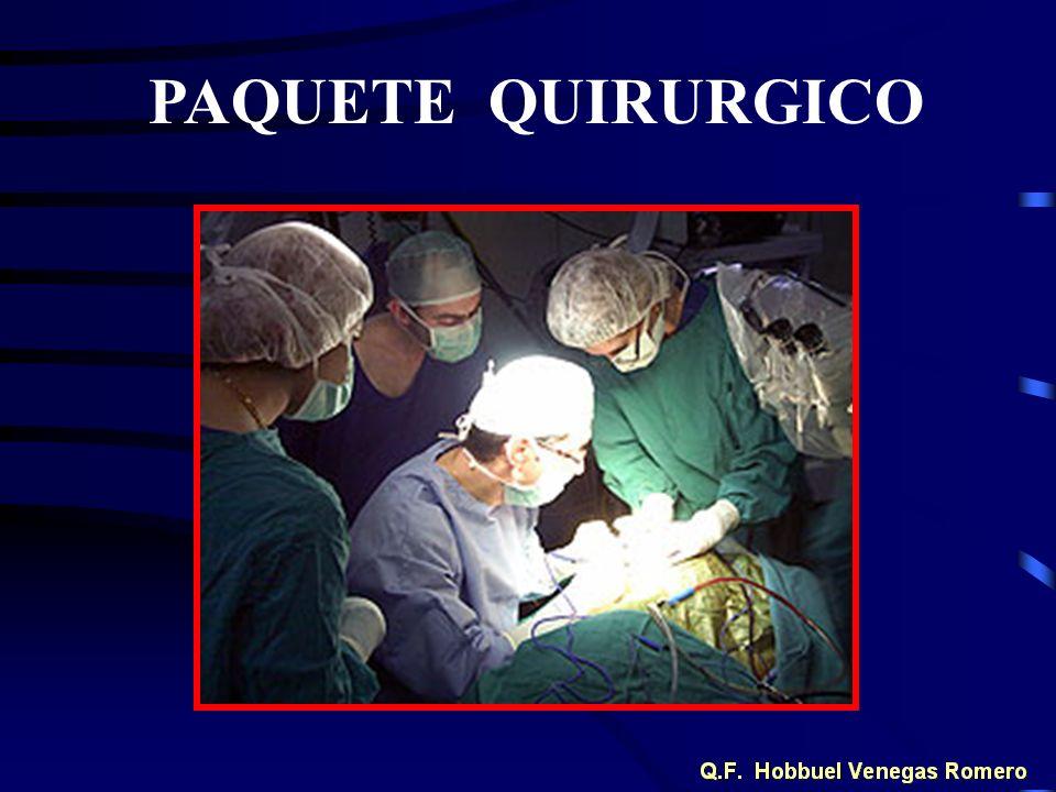 PAQUETE QUIRURGICO
