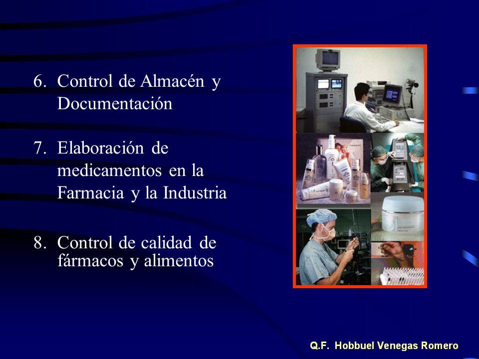 Control de Almacén y Documentación