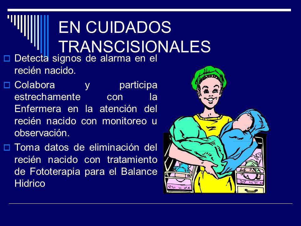 EN CUIDADOS TRANSCISIONALES