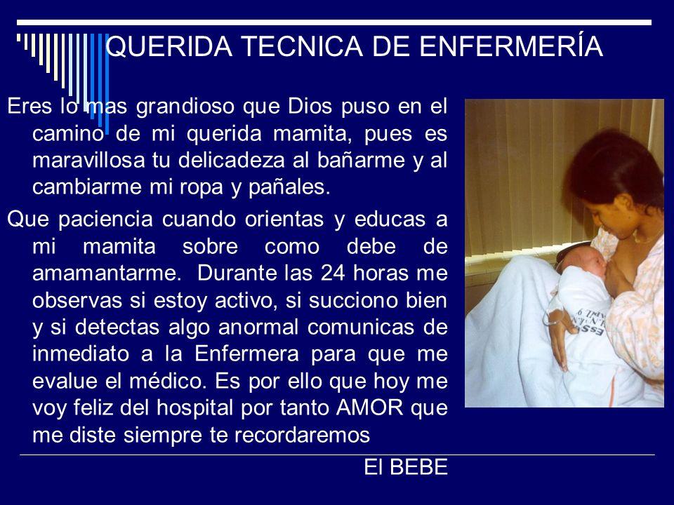 QUERIDA TECNICA DE ENFERMERÍA