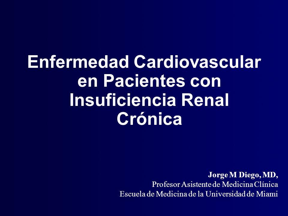 Enfermedad Cardiovascular en Pacientes con Insuficiencia Renal Crónica