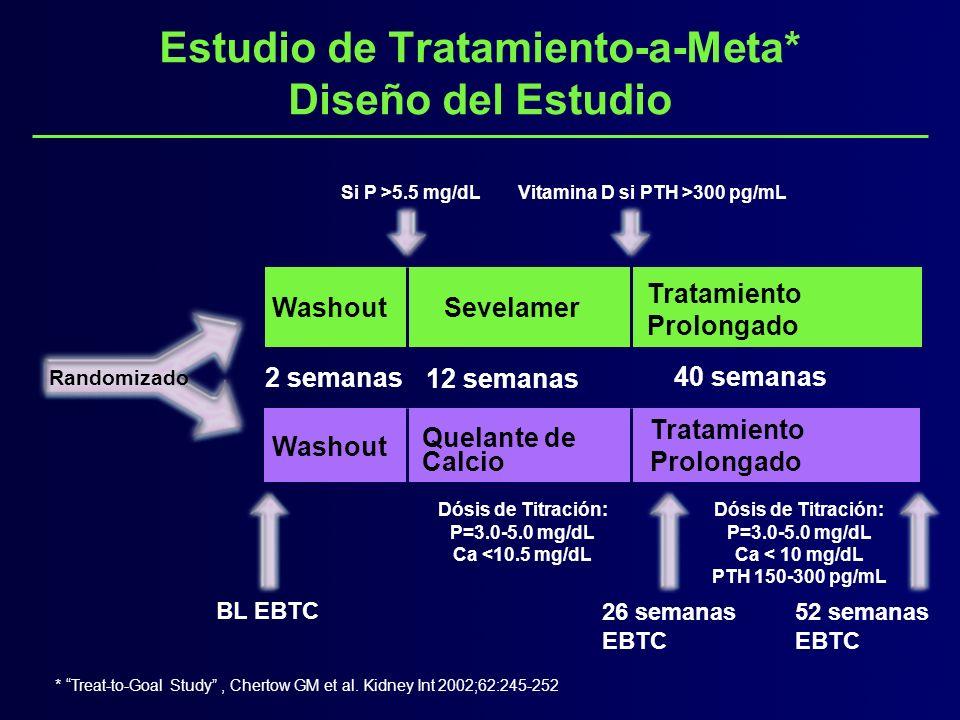 Estudio de Tratamiento-a-Meta* Diseño del Estudio