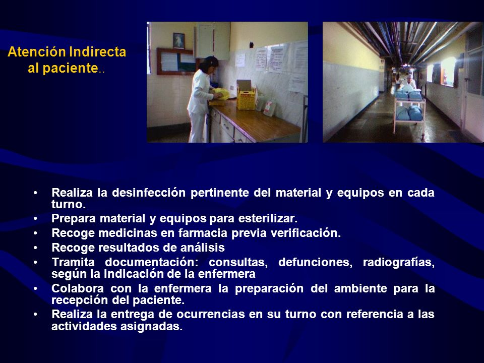 Atención Indirecta al paciente..