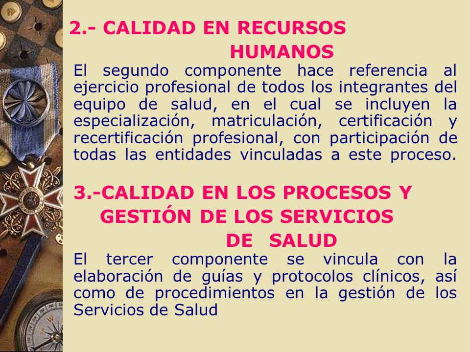 2.- CALIDAD EN RECURSOS