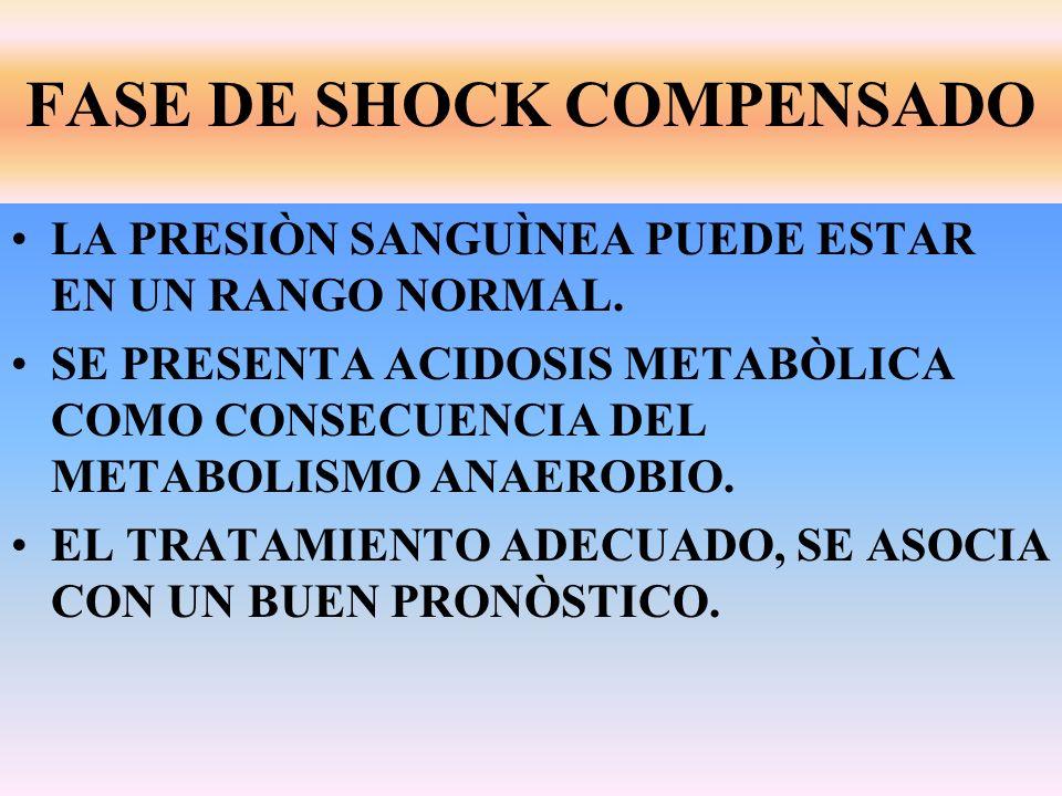 FASE DE SHOCK COMPENSADO