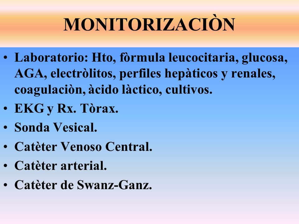 MONITORIZACIÒN