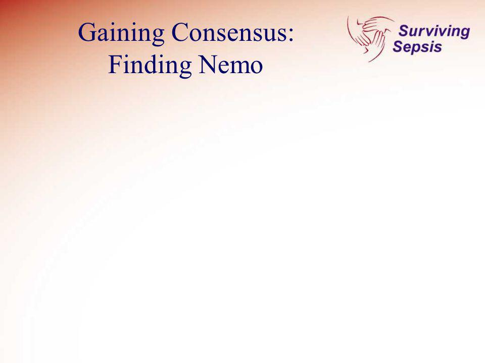 Gaining Consensus: Finding Nemo