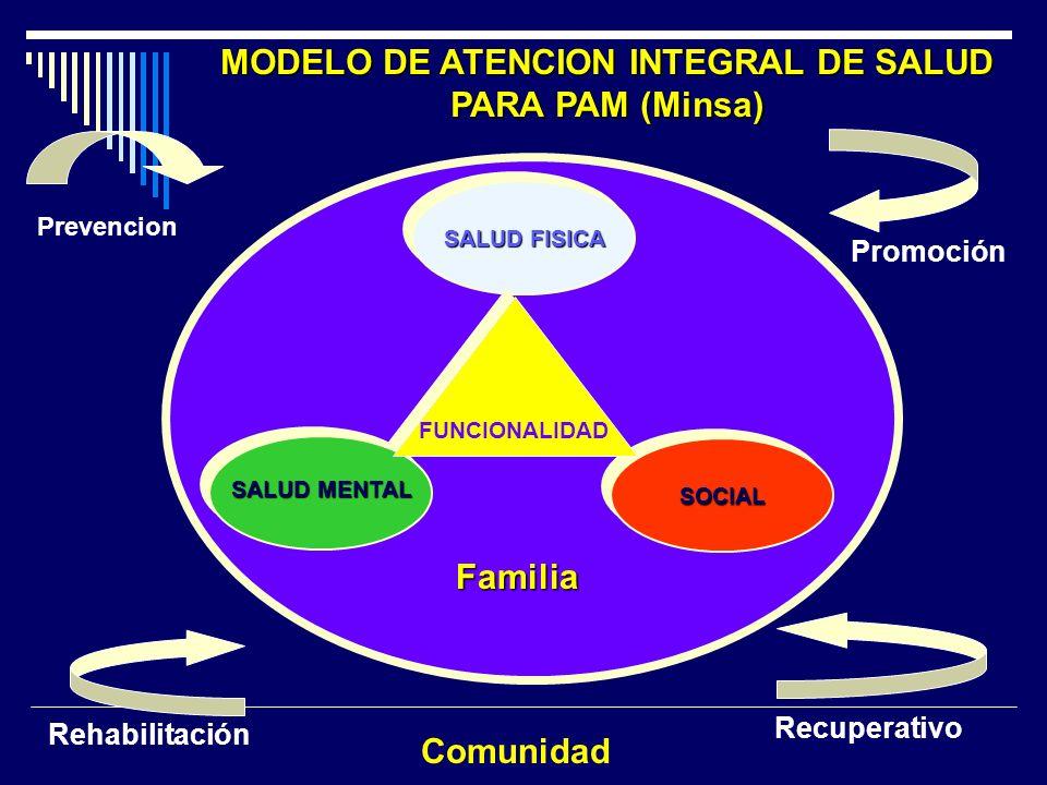 MODELO DE ATENCION INTEGRAL DE SALUD PARA PAM (Minsa)