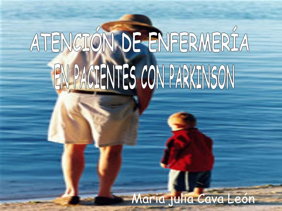 ATENCIÓN DE ENFERMERÍA EN PACIENTES CON PARKINSON