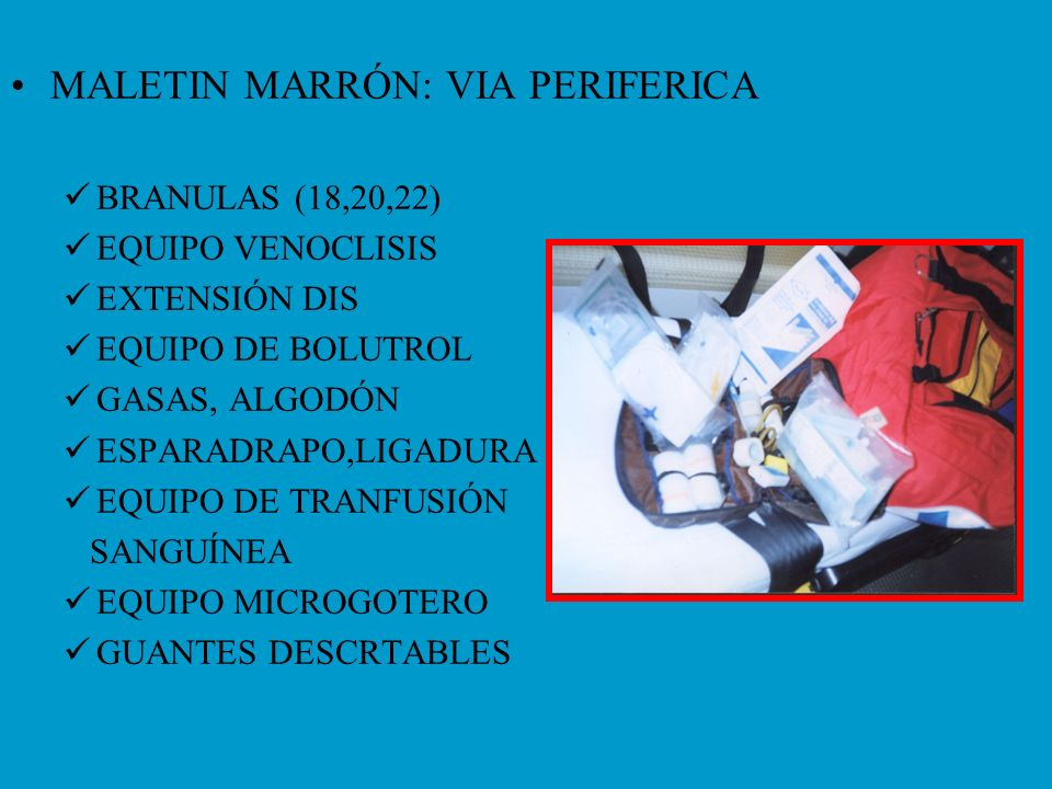 MALETIN MARRÓN: VIA PERIFERICA