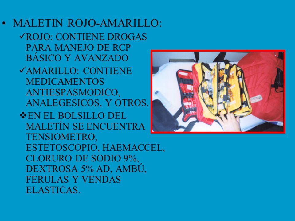 MALETIN ROJO-AMARILLO: