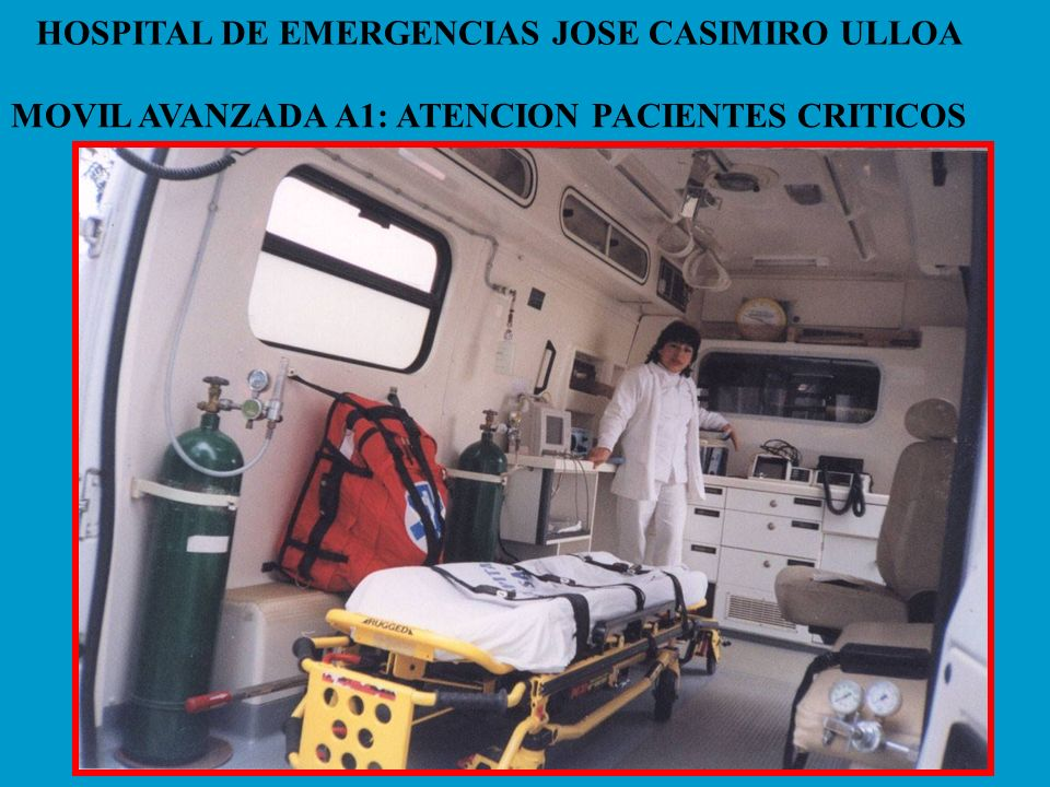 HOSPITAL DE EMERGENCIAS JOSE CASIMIRO ULLOA