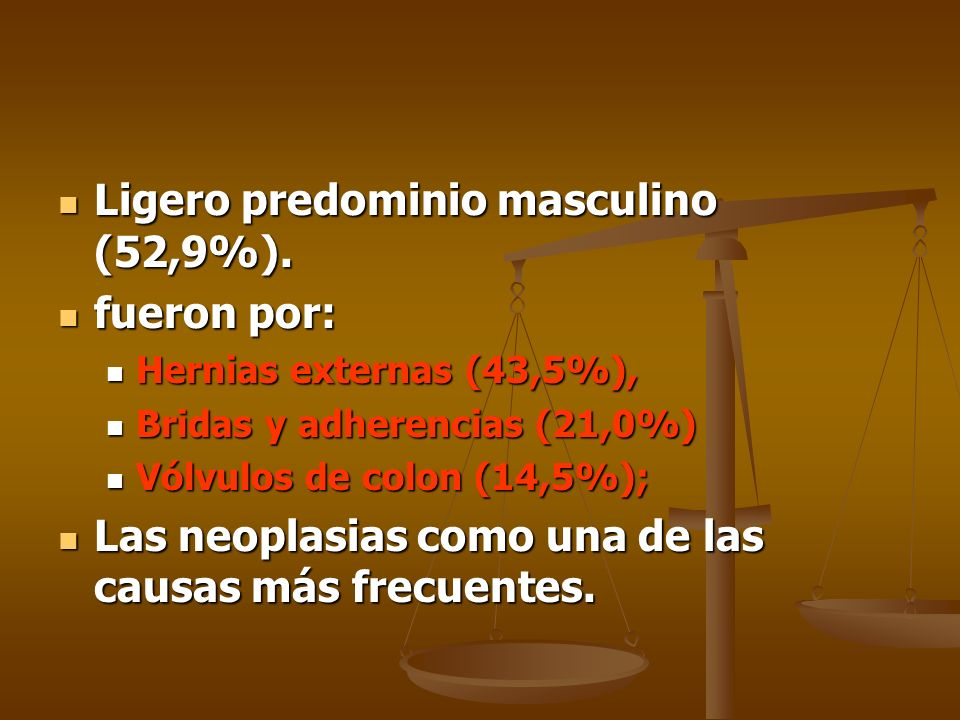 Ligero predominio masculino (52,9%). fueron por: