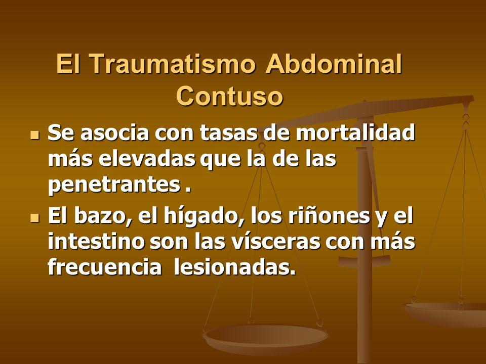 El Traumatismo Abdominal Contuso