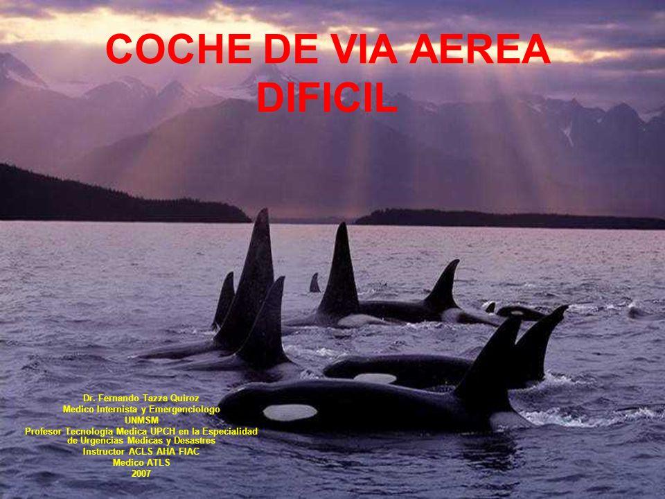 COCHE DE VIA AEREA DIFICIL