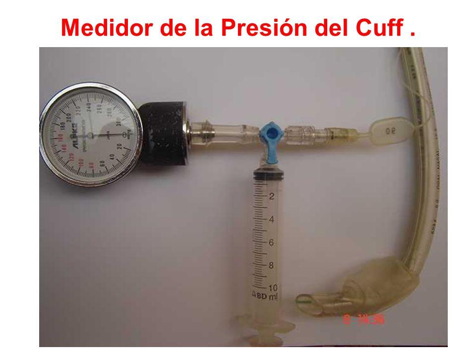 Medidor de la Presión del Cuff .