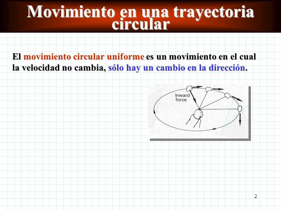 Movimiento en una trayectoria circular