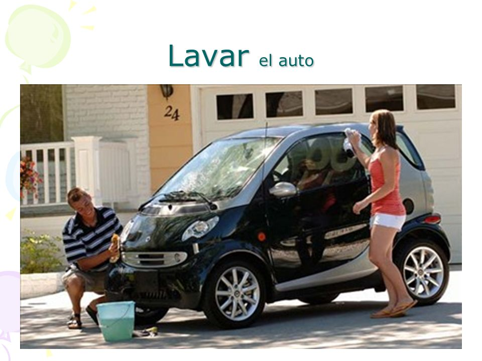 Lavar el auto