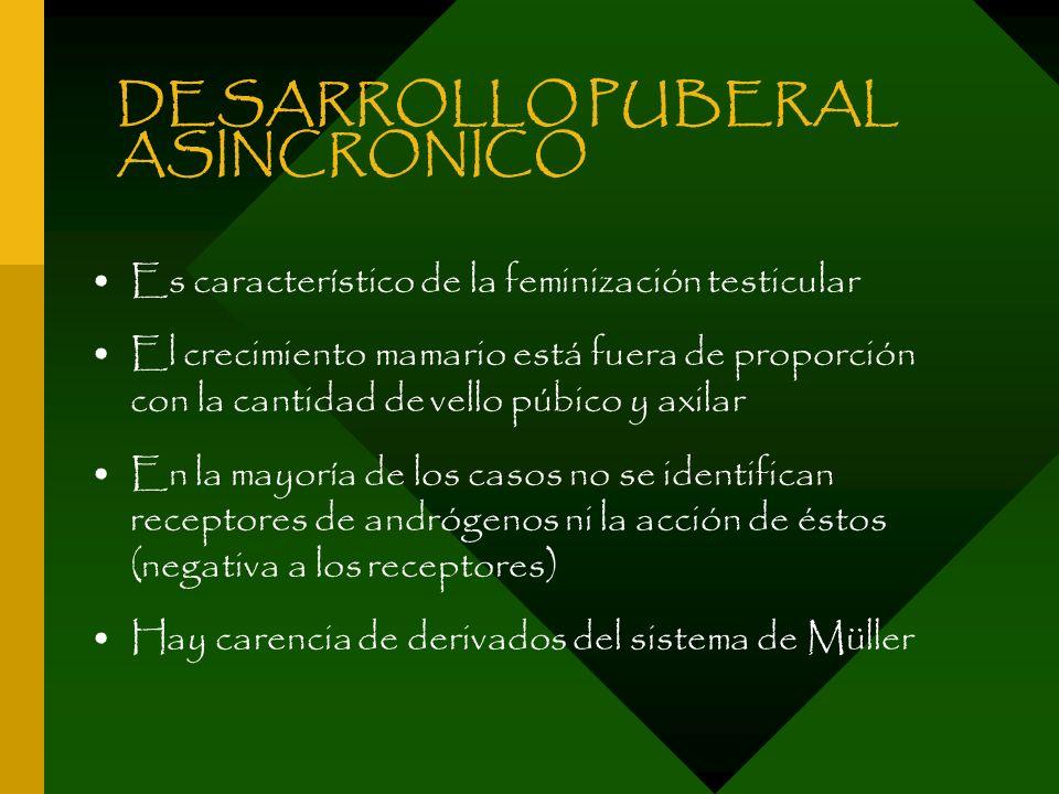 DESARROLLO PUBERAL ASINCRONICO