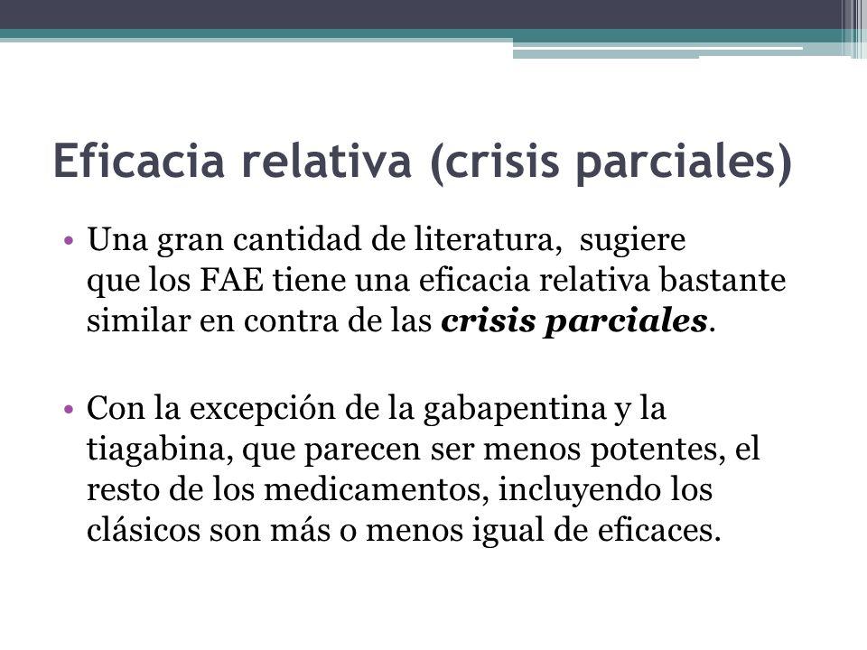 Eficacia relativa (crisis parciales)
