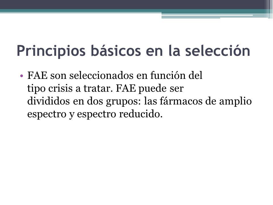 Principios básicos en la selección
