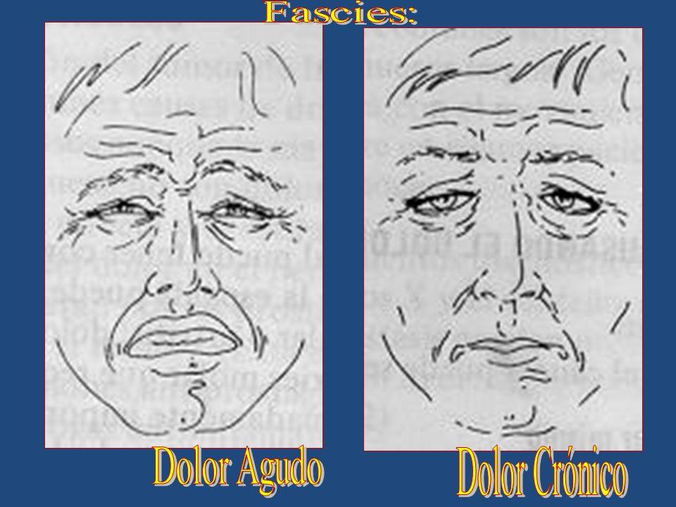 Fascies: Dolor Agudo Dolor Crónico