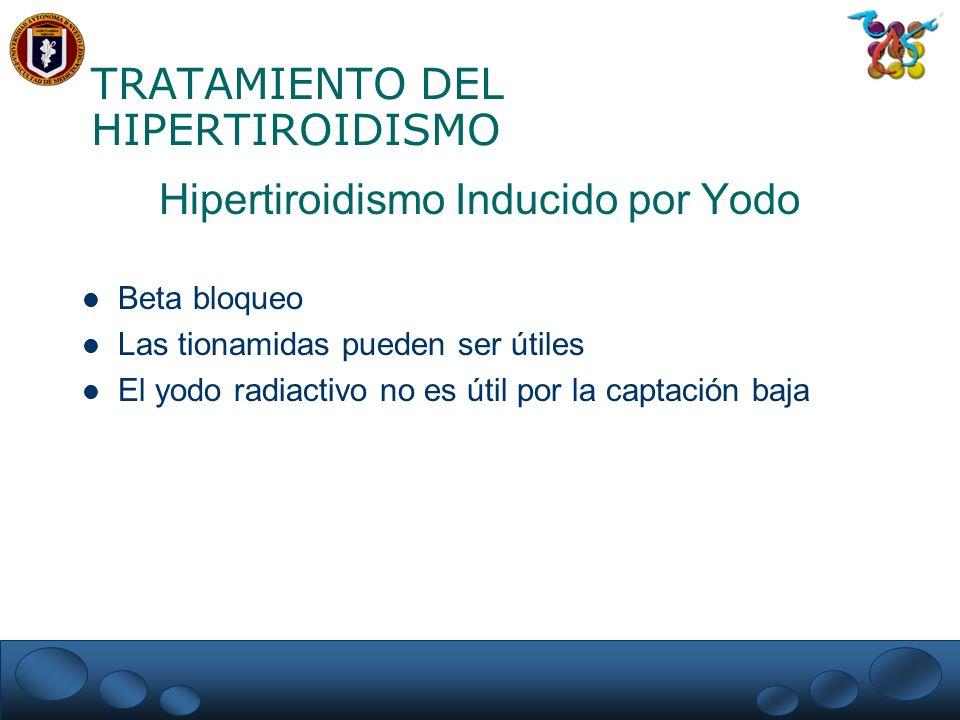 TRATAMIENTO DEL HIPERTIROIDISMO