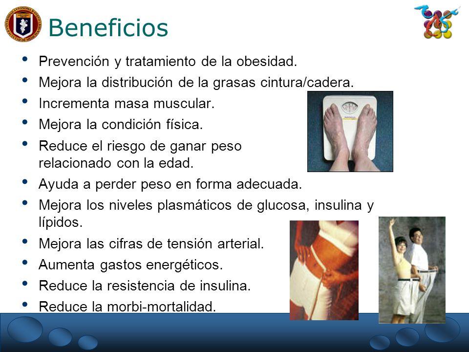 Beneficios Prevención y tratamiento de la obesidad.
