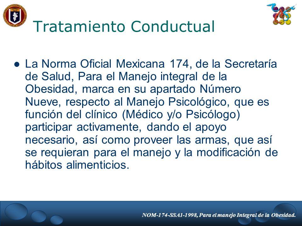 Tratamiento Conductual