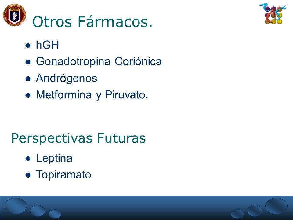 Otros Fármacos. Perspectivas Futuras hGH Gonadotropina Coriónica