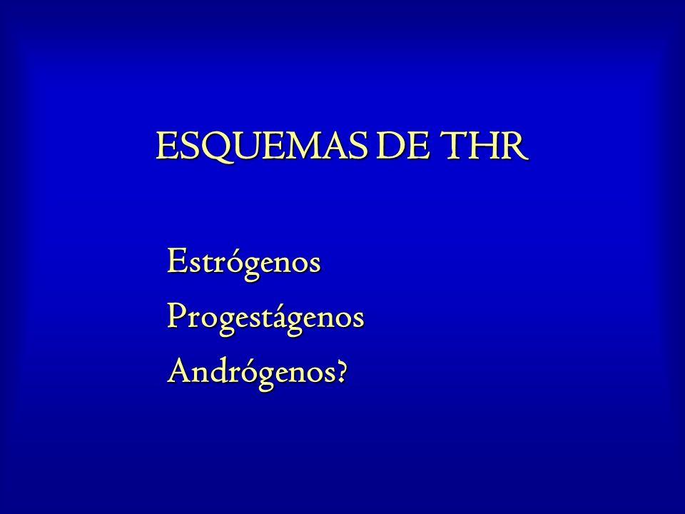 Estrógenos Progestágenos Andrógenos