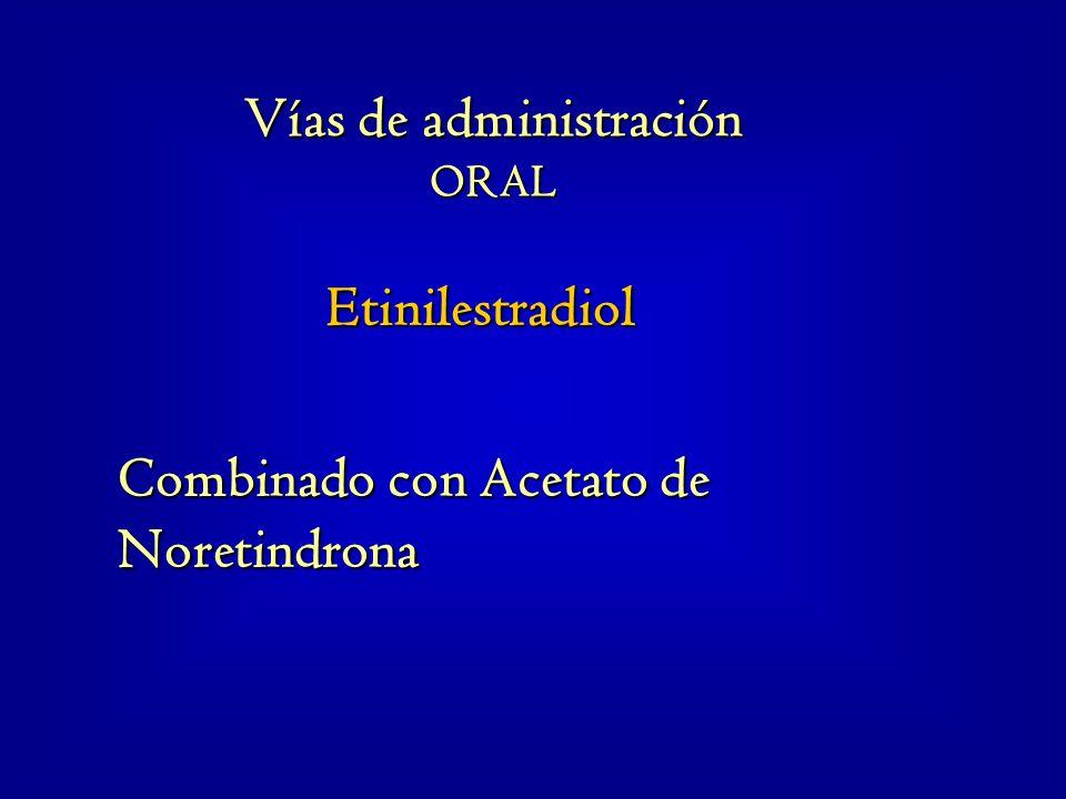 Etinilestradiol Combinado con Acetato de Noretindrona