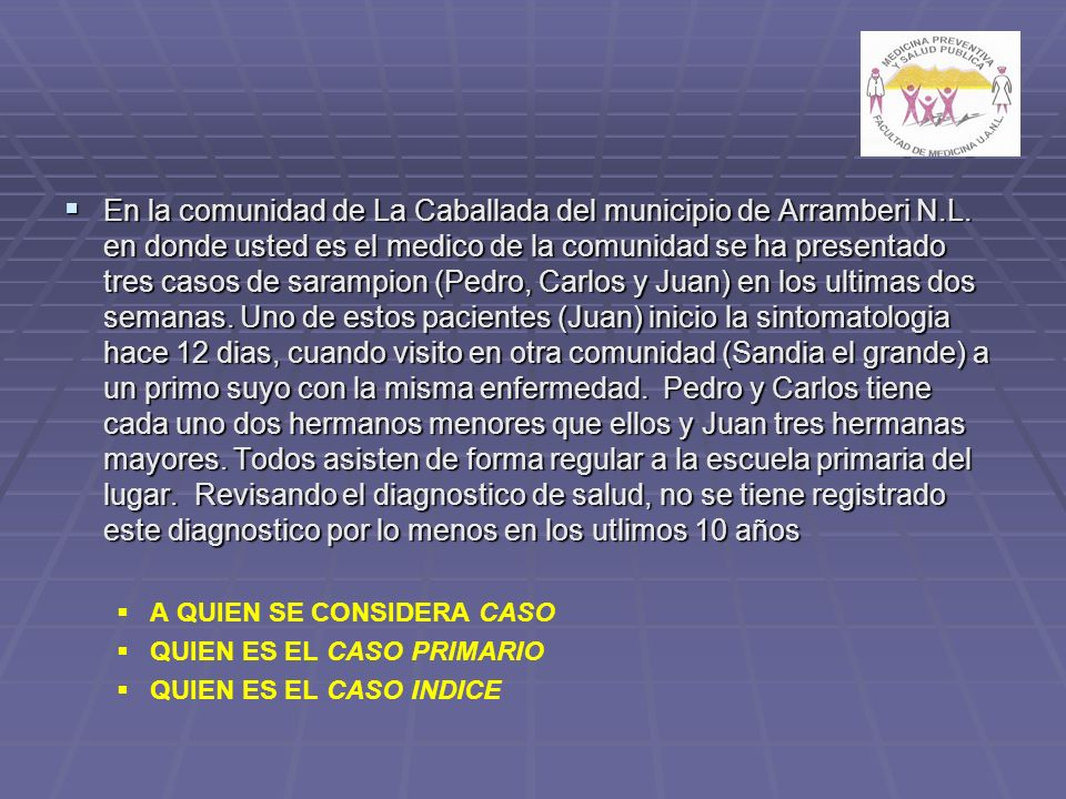 En la comunidad de La Caballada del municipio de Arramberi N. L