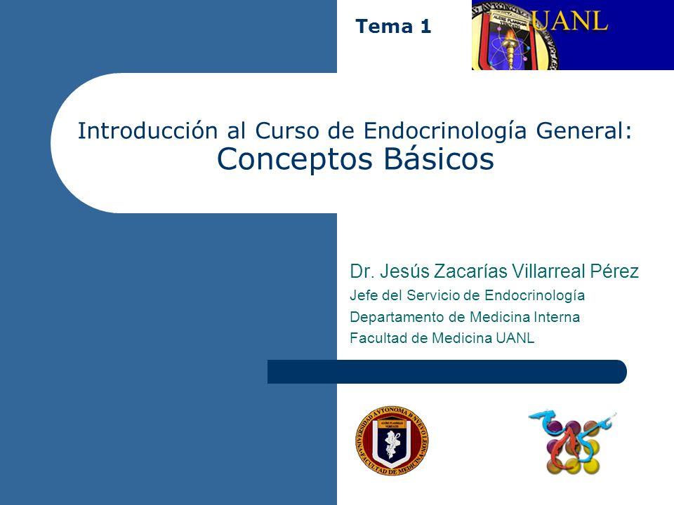 Introducción al Curso de Endocrinología General: Conceptos Básicos