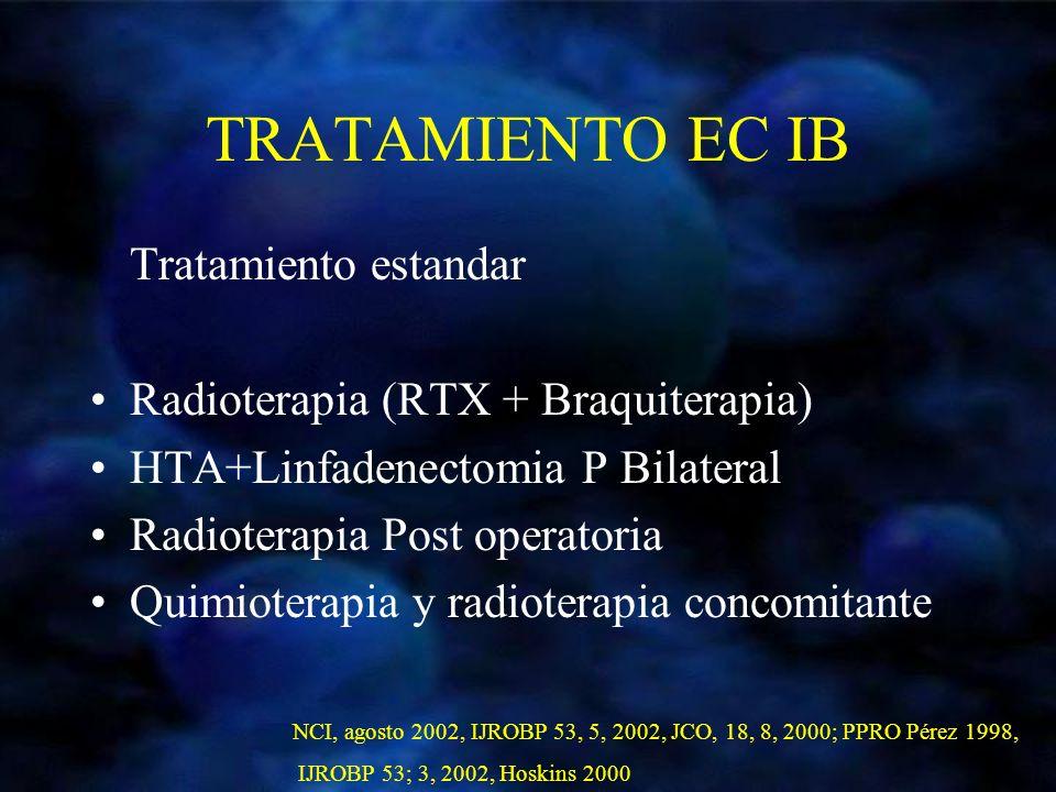 TRATAMIENTO EC IB Tratamiento estandar