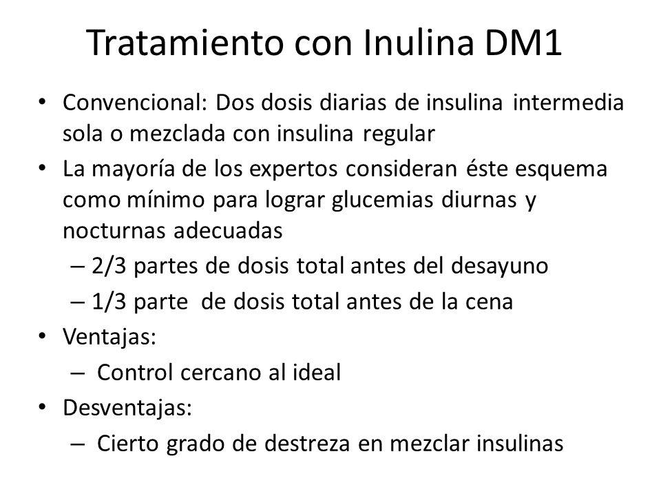 Tratamiento con Inulina DM1