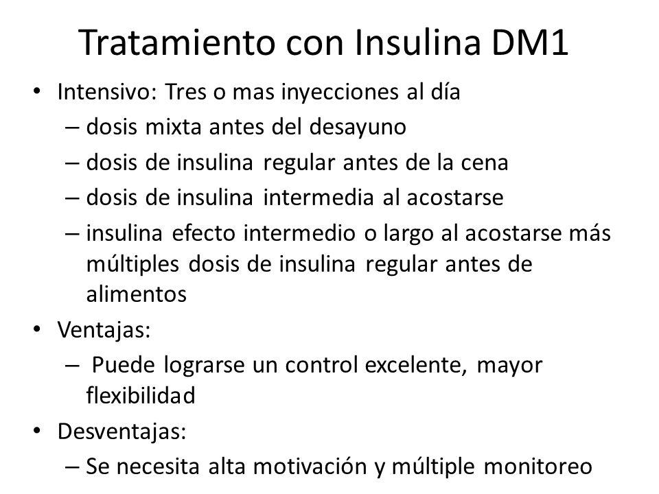 Tratamiento con Insulina DM1