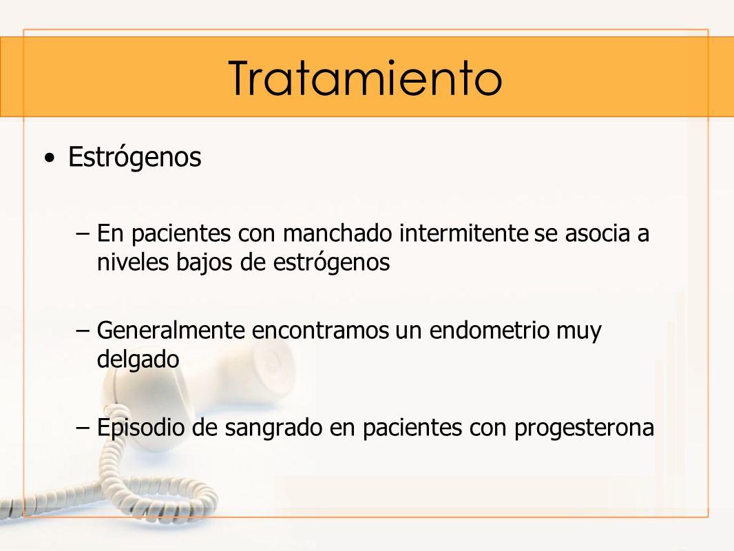Tratamiento Estrógenos