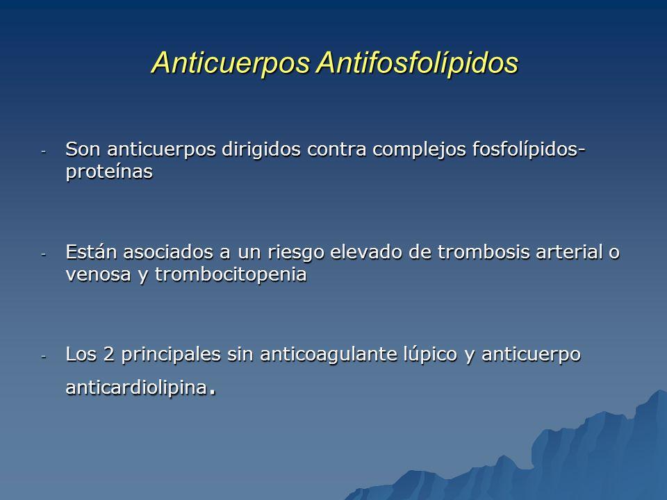 Anticuerpos Antifosfolípidos